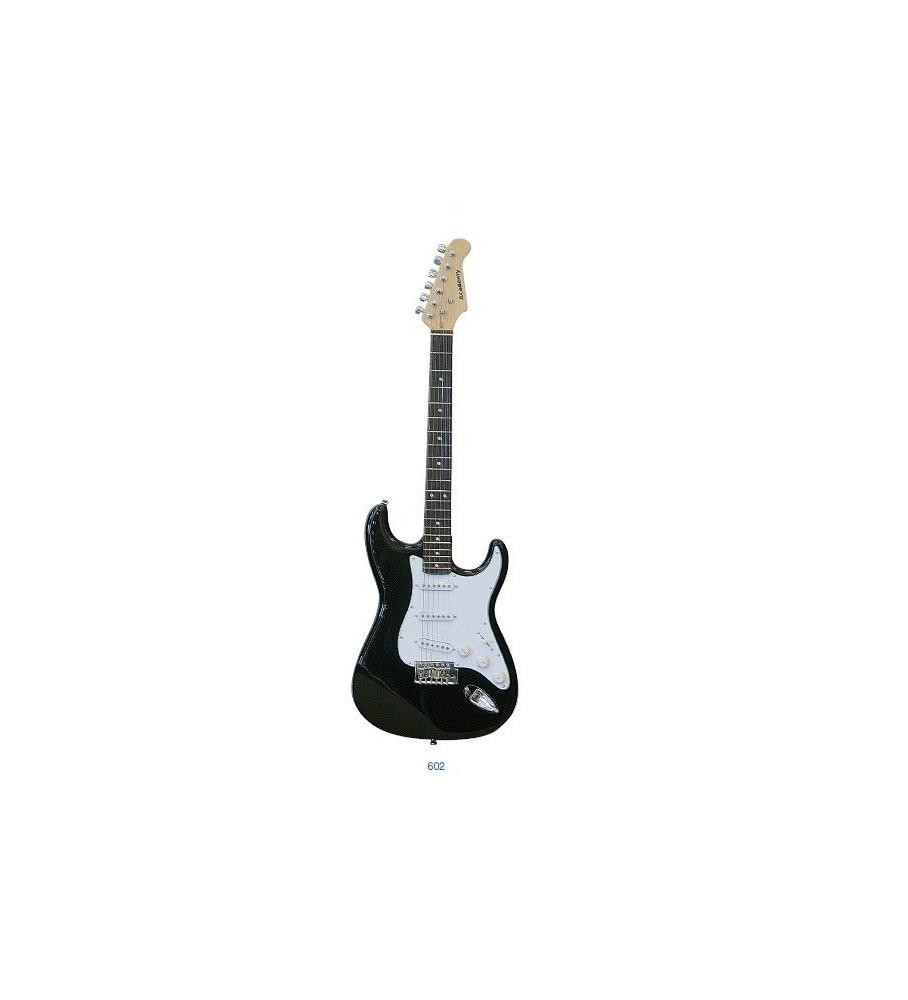 Guitarra eléctrica Daytona tipo Stratocaster ST309 Negra