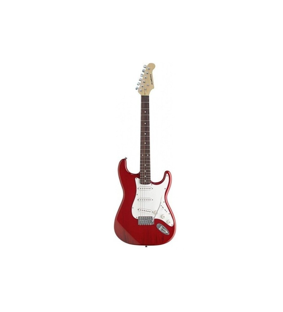 Guitarra eléctrica Daytona tipo Stratocaster ST309 Roja