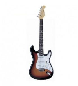 Guitarra eléctrica Daytona tipo Stratocaster ST309 Sombreada