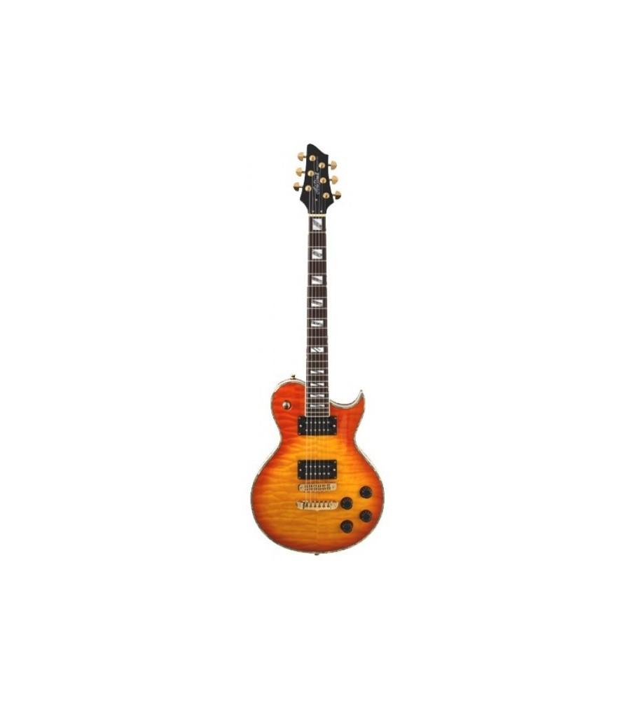 "Guitarra ""ARIA"" Royale Miel Les Paul"