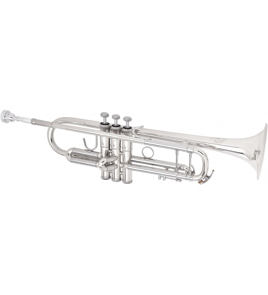 Música Asensio Trompeta B&S BS-31372-2-0 Plateada