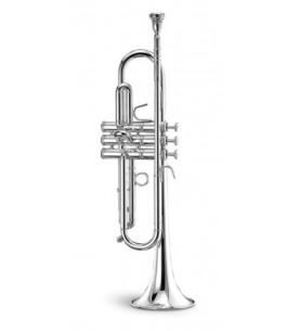 Música Asensio Trompeta Stomvi Zenith Sib plateada