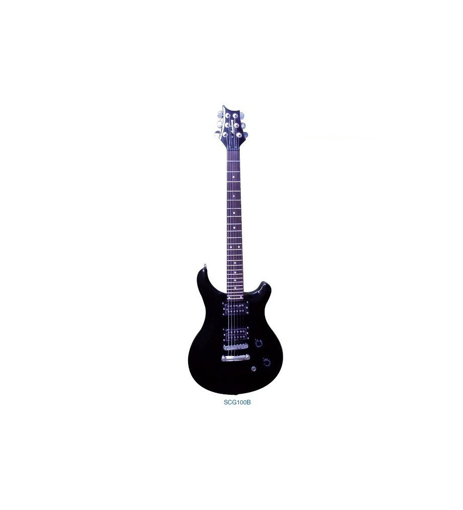 "Guitarra Electrica ""ACADEMY"" SCG100 Roja"