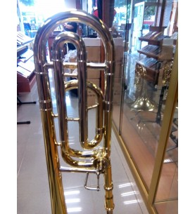Trombón Gara en Sib/Fa mod.GSL-61F tuberia ancha
