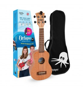 Música Asensio Ukelele Octopus Soprano UK-200N natural