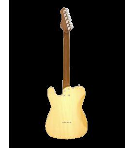 Música Asensio Guitarra eléctrica Aria 615-MK2 Nashville azul translúcido