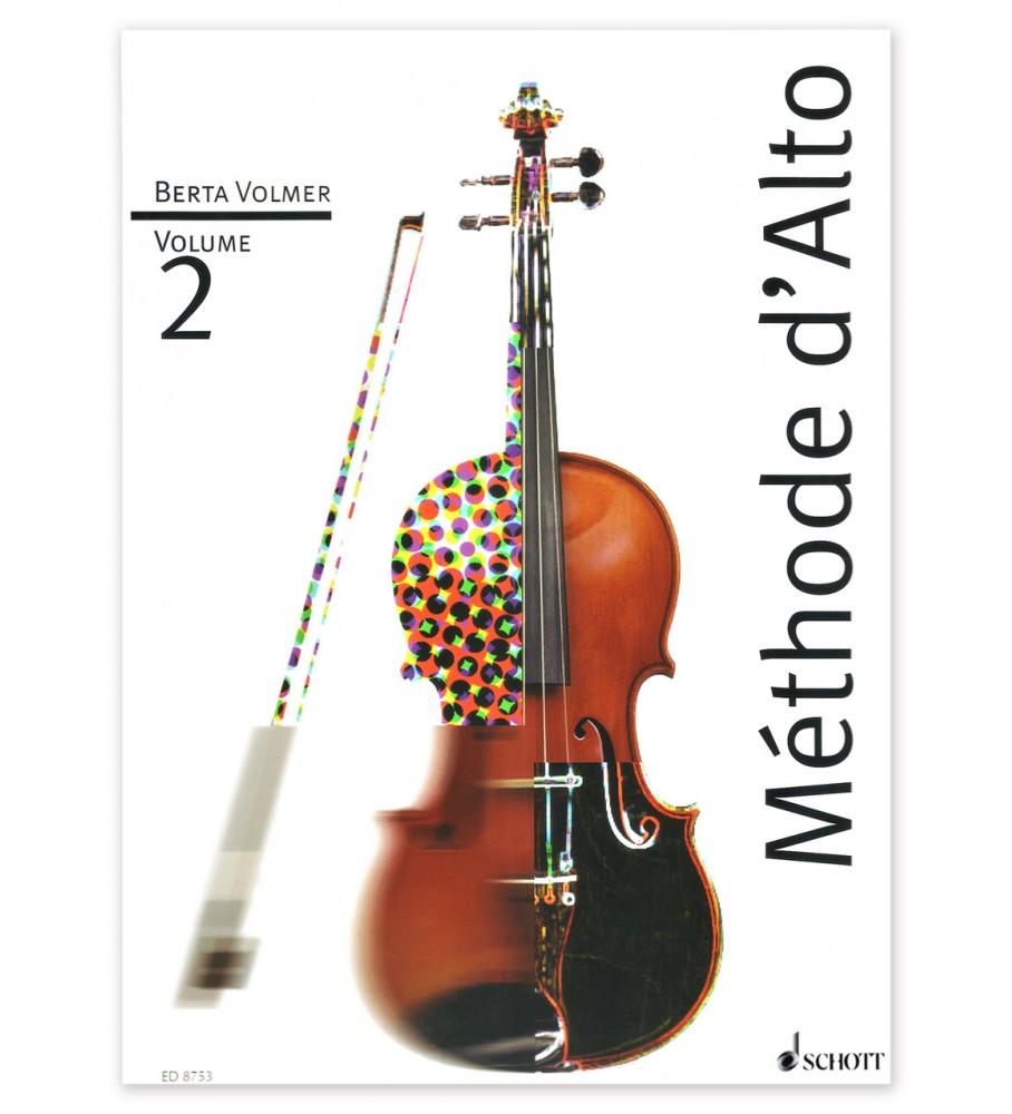 Música Asensio Volmar, B. - Método de viola vol.2(francés)