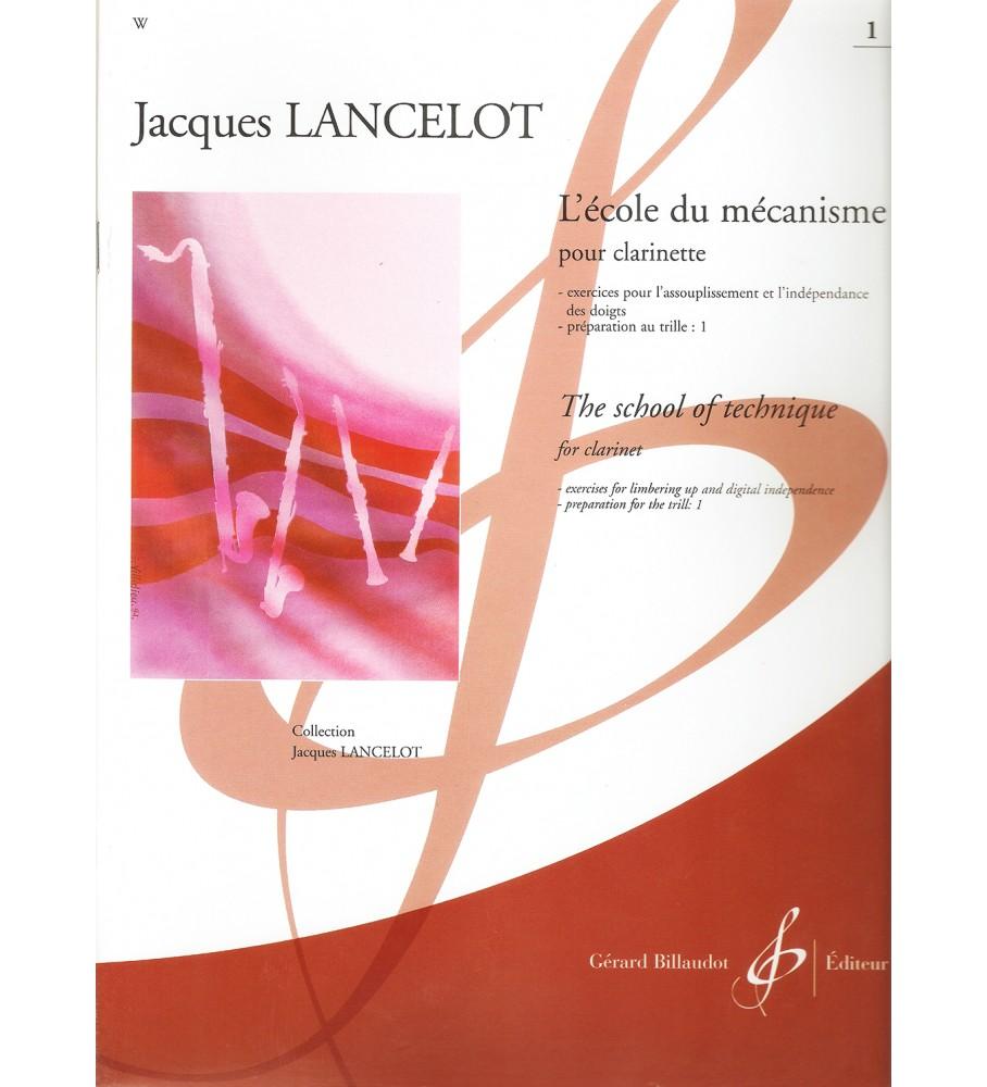 Música Asensio Lancelot, J. - Escuela de mecanismo clarinete