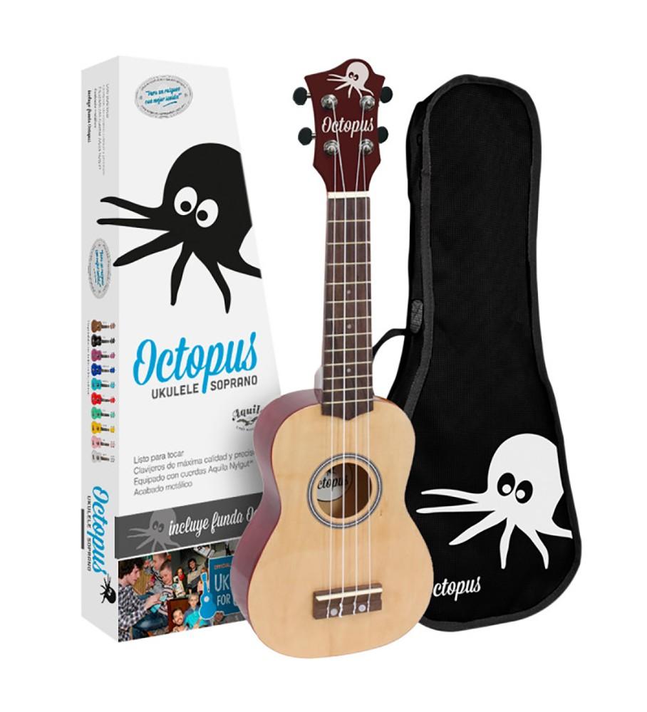 Música Asensio Ukelele soprano Octopus UK-200YN