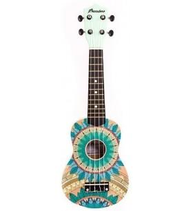Música Asensio Ukelele Soprano Bamboo Fresh Aqua B1E-AQ