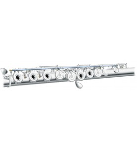 Música Asensio Flauta Pearl F665-E Quantz Forza Platos Cerrados Desalineados Mecanismo Mi