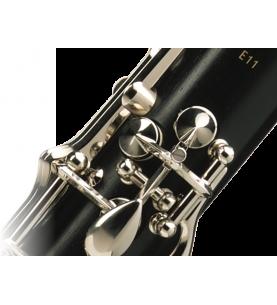 Música Asensio Buffet Crampon / E-11 (Plateado) BC2501-2-0GB / Clarinete en Sib