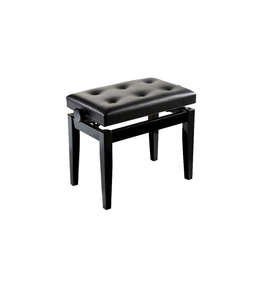 BANQUETA PARA PIANO CASIO REGULABLE BGB negro/negro.