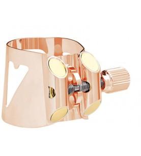 Música Asensio Abrazadera Clarinete Vandoren Optimum oro rosa LC01PGP