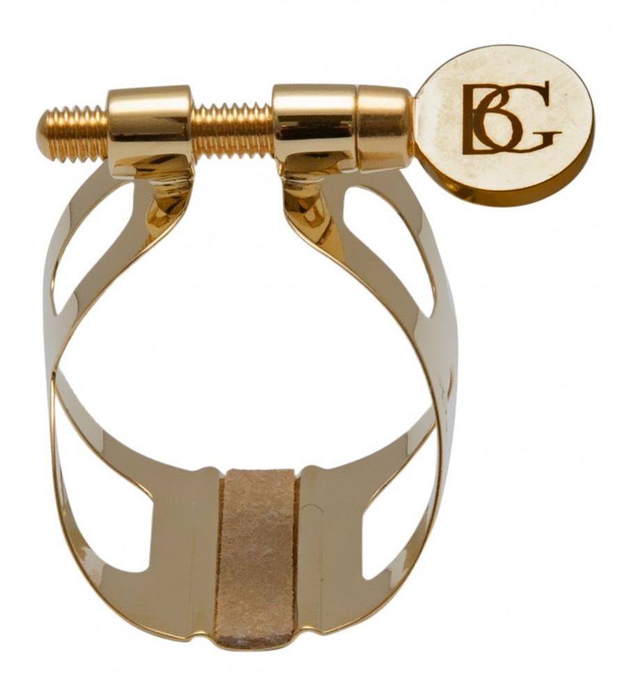 Música Asensio Abrazadera clarinete BG Sib Tradition chapada en oro L3