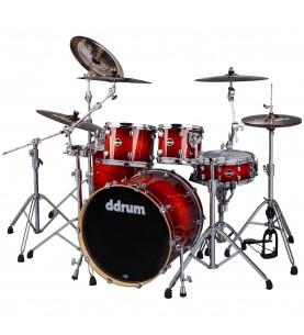 Música Asensio Batería DDRUM Dominion Birch 5P SH PK Red Sparkle