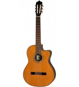 Música Asensio Guitarra Clásica Veelah VEE-201 Cutaway Electrificada