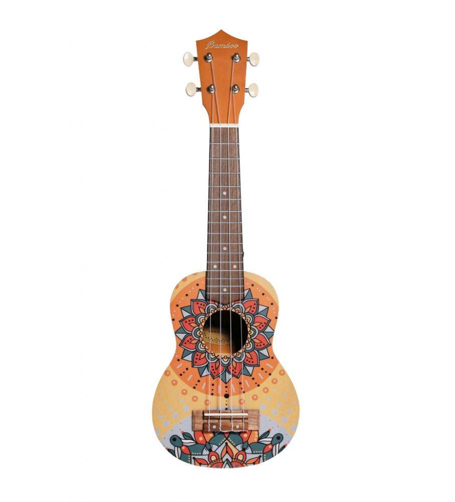Música Asensio Ukelele Soprano Bamboo The Shine B1E-SH