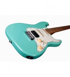 Música Asensio Guitarra Eléctrica Jet JS400-SFG-HSS Verde Agua Marina
