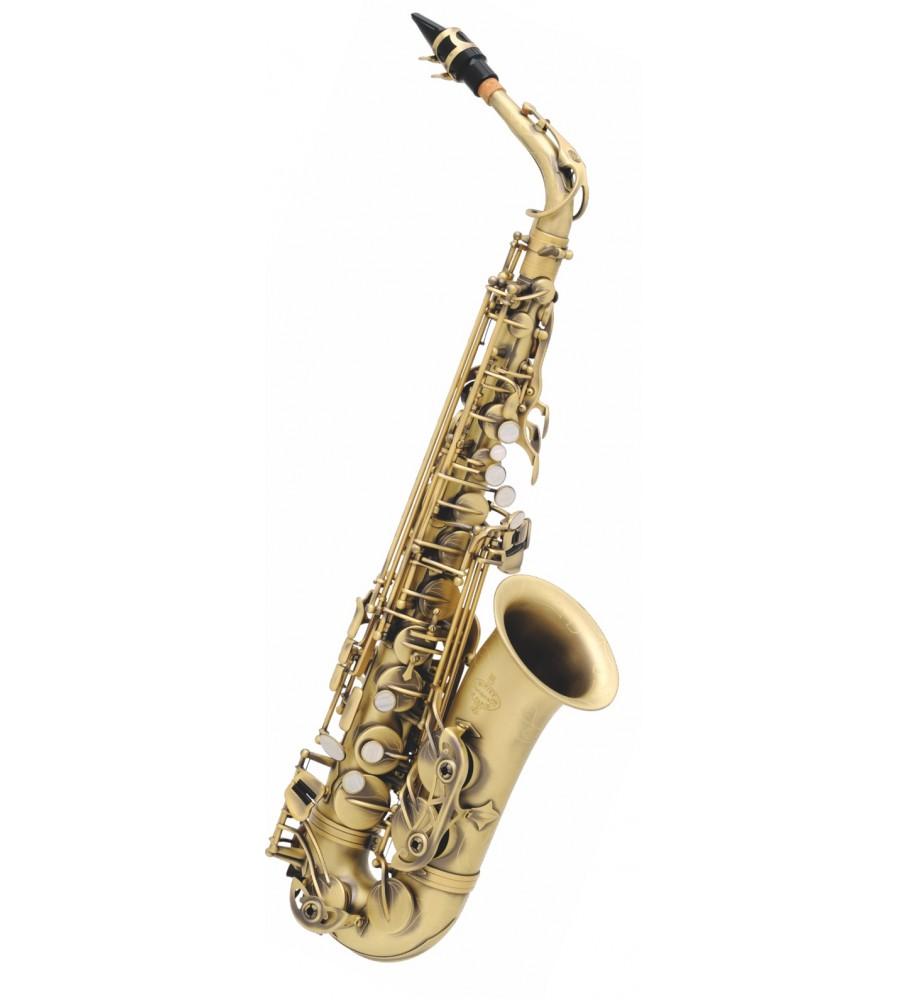 Música Asensio Saxo Alto Buffet Crampon Semi-Pro 8401-4-0 Mate Brosse