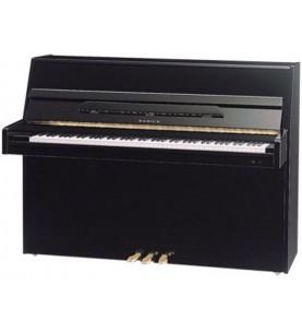 Música Asensio Piano vertical Samick JS-110D Negro Pulido