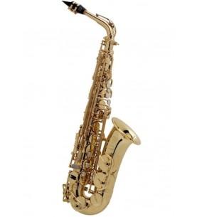 Música Asensio Saxo alto Selmer Serie III dorado grabado Jubile