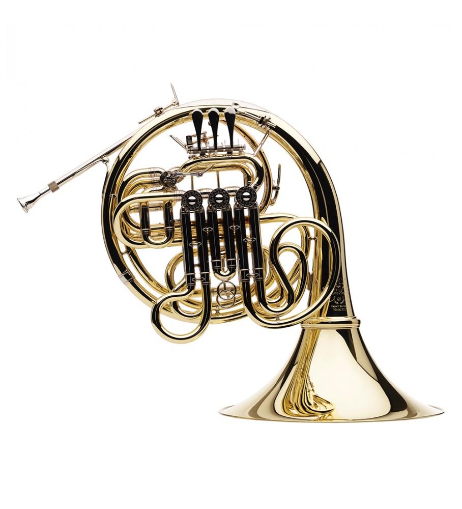 Música Asensio Trompa doble Hans Hoyer Custom SB K-10A-L1 Lacada