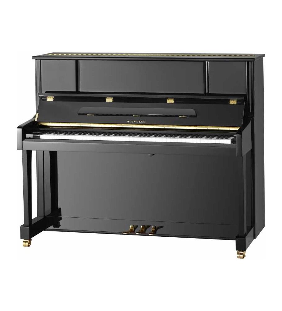 Piano acustico vertical Samick JS-122SMD negro pulido