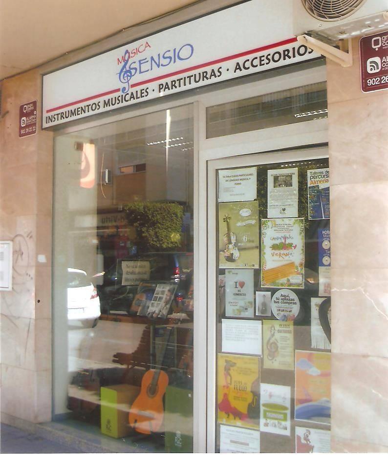 Música Asensio tienda de instrumentos musicales